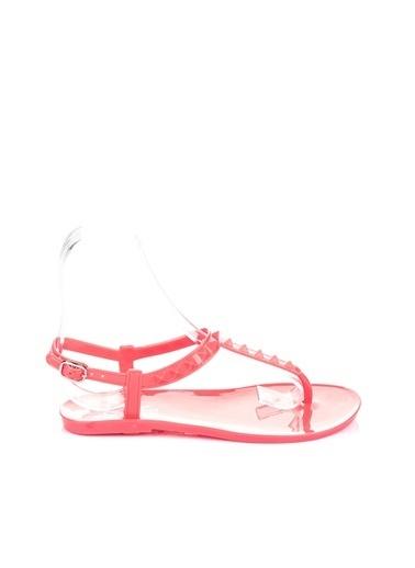Pembe Potin A1600-17 Kadın Sandalet A1600-17 Mercan